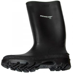 Bota de goma alta Dunlop negra 380