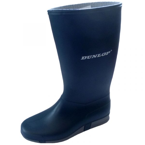 Bota de goma Dunlop azul 254